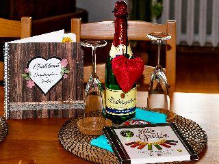 Willkommensgeschenk für die Gäste